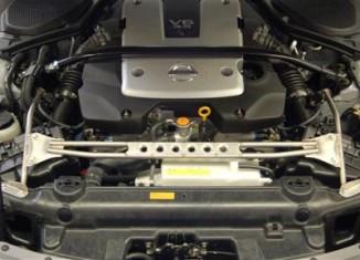 350Z Front Core Support Brace