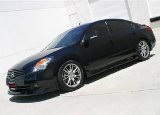 Altima Sedan Lip Spoiler & Side Skirts