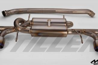Silence VX Pro Titan II Exhaust