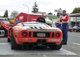 At the 2008 Dunlop Targa Rally
