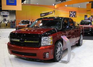 STILLEN 2008 Chevy Silverado at SEMA