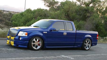 Truckin' Magazine Cover Truck For Sale   STILLEN Garage