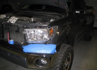 Anzo Headlight Installation