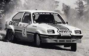 Chevrolet Chevette Steve Millen Rally