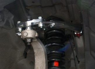 Installed STILLEN G35 Coupe Upper Control Arm