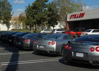 Customer GT-Rs at STILLEN's GT-R Day