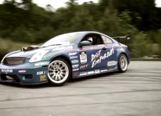 STILLEN Supercharged 5.6L Titan Motor in Drift Emporium's G35 Coupe drift car