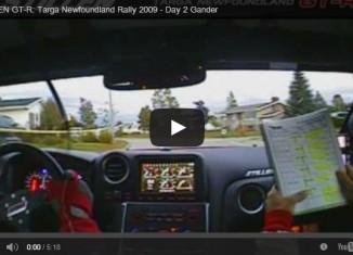 STILLEN GT-R Targa Newfoundland Rally 2009