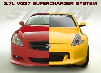 VQ37 Supercharger