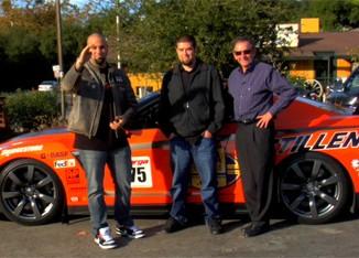 Matt Farah, Kyle Millen and Steve Millen