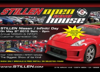 STILLEN Open House Nissan Infiniti Day 2010 May 8