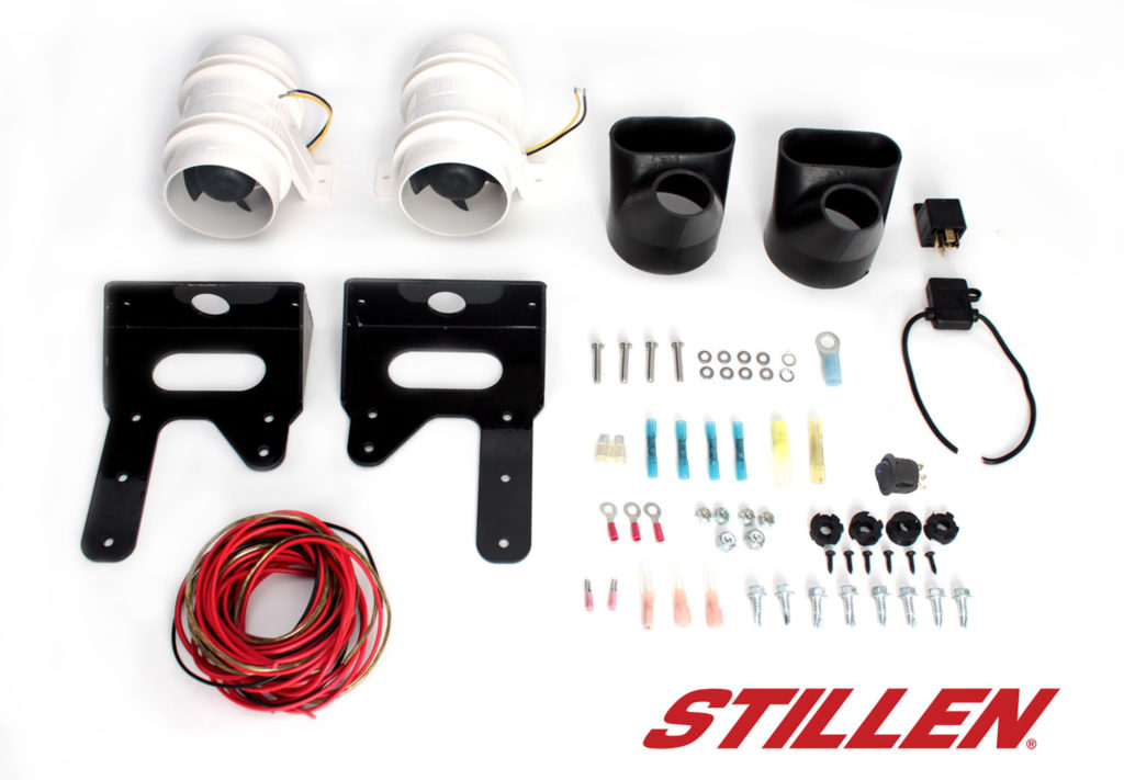 GTR308395 STILLEN GT-R FRONT BRAKE COOLING KIT 1