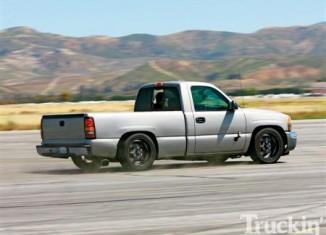 Truckin Magazine Project Novakane GMC Sierra AP Racing Brake Install