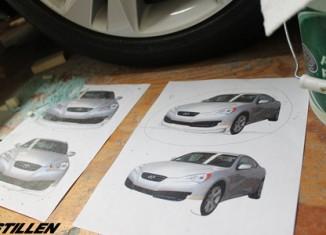 Hyundai Genesis Coupe Front Lip Spoiler Designs