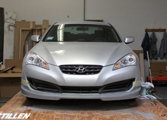 Hyundai Genesis Coupe Front Lip Spoiler