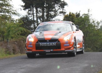 Steve Millen STILLEN R35 GT-R Targa New Zealand Day 3