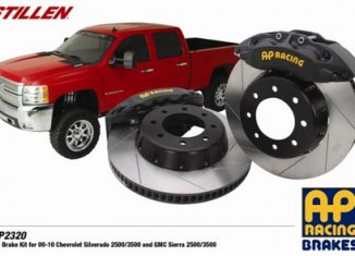 STILLEN AP Racing GM and Chevy 2500 & 3500 Brake Kit