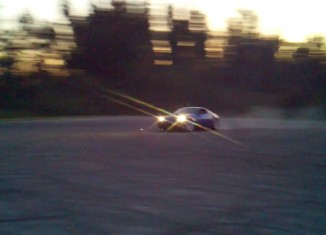 STILLEN customer's Supercharged 350Z drifting