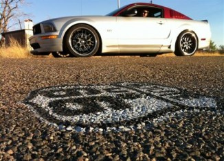 STILLEN Mustang on Route 66