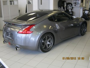 370Z with STILLEN Cat-Back Exhaust Avaliable at Newmarket Infiniti Nissan