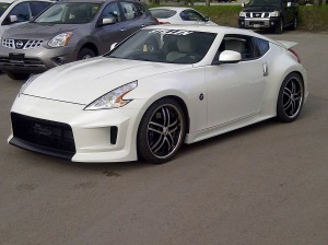 Newmarket Nissan's STILLEN Customized 370Z with Cat-Back Exhaust & Intakes