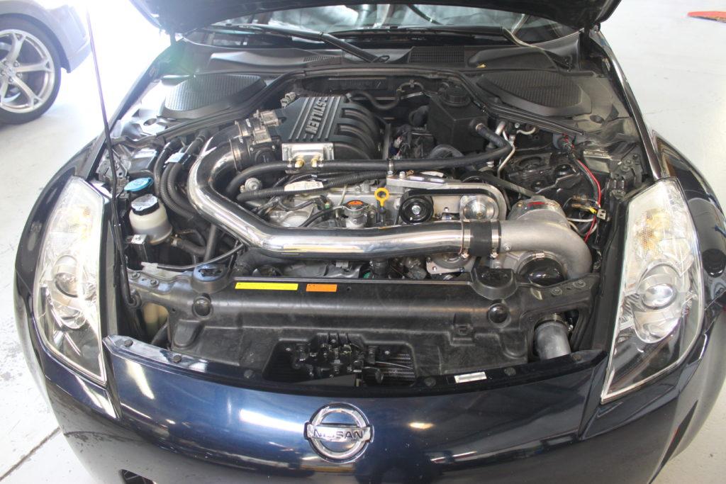 STILLEN VQ35HR Supercharger Available for 2007-2008 Nissan 350Z