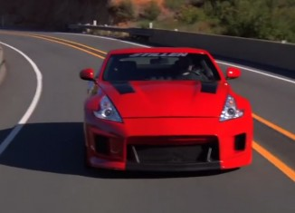 Smoking Tire test drives STILLEN 370Z
