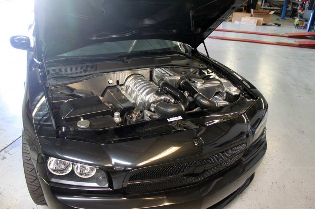 Dodge Charger Supercharger Magnacharger Installed by the STILLEN Performance Shop