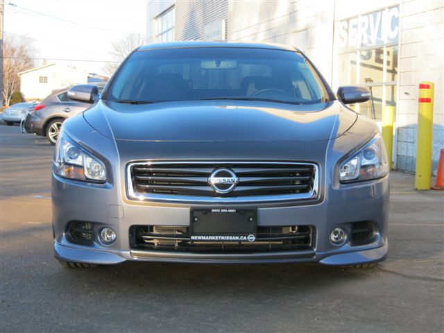 Newmarket Infiniti/Nissan Maxima with Hi-Flow Intake and Front Lip