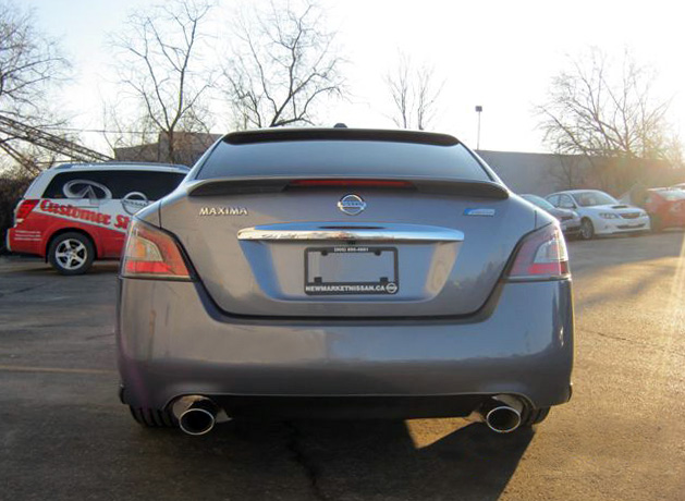 Newmarket Infiniti/Nissan Maxima with Cat-Back and Roof Wing