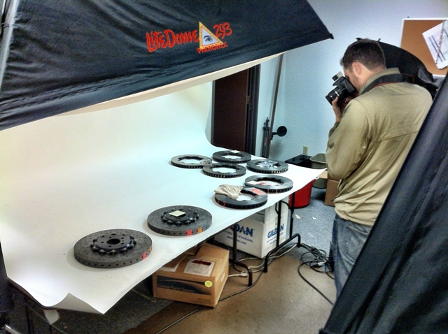 Getting a Close Up of the STILLEN GT-R Rotors