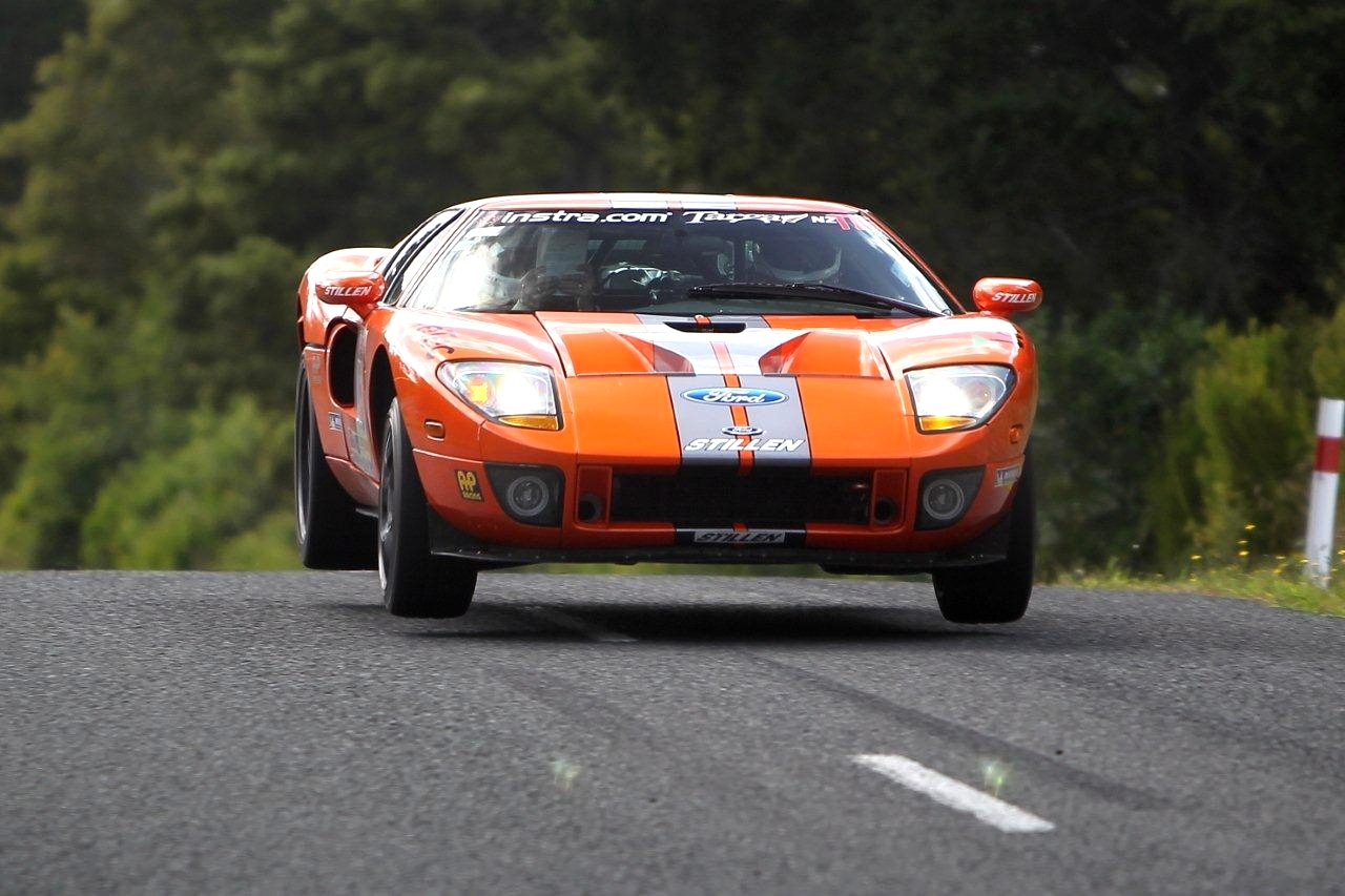 Steve Millen and Ford GT 40 Air Time