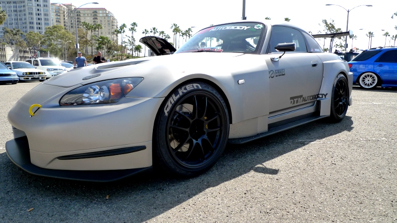 Widebody S2000 at the Long Beach Formula Drift