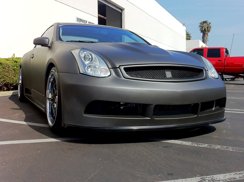 Supercharged Widebody G35