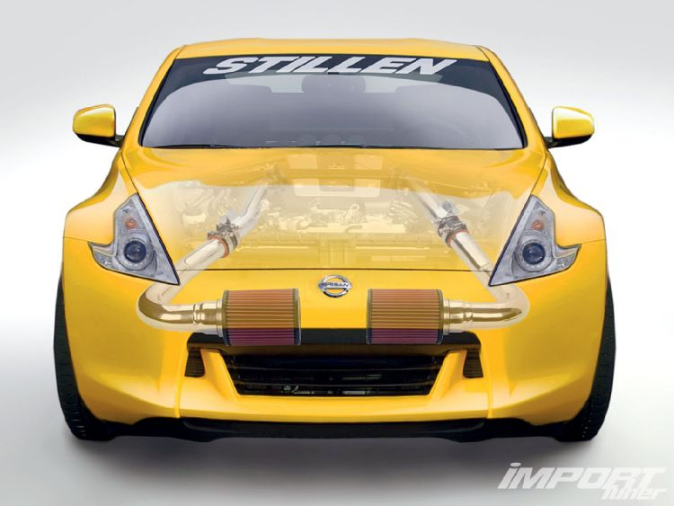 Nissan 370z with STILLEN Intake System