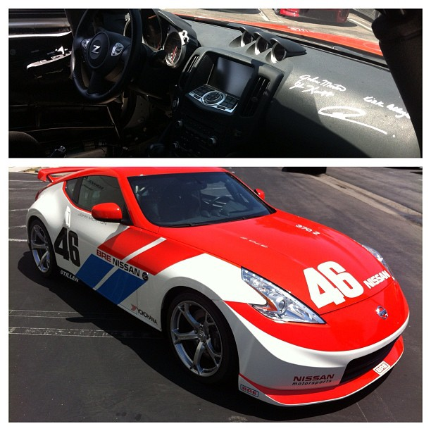 BRE 370z Tribute Car at STILLEN