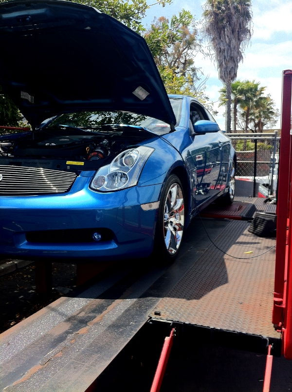 G35 Getting an Up Rev Tune at the STILLEN Performance Shop
