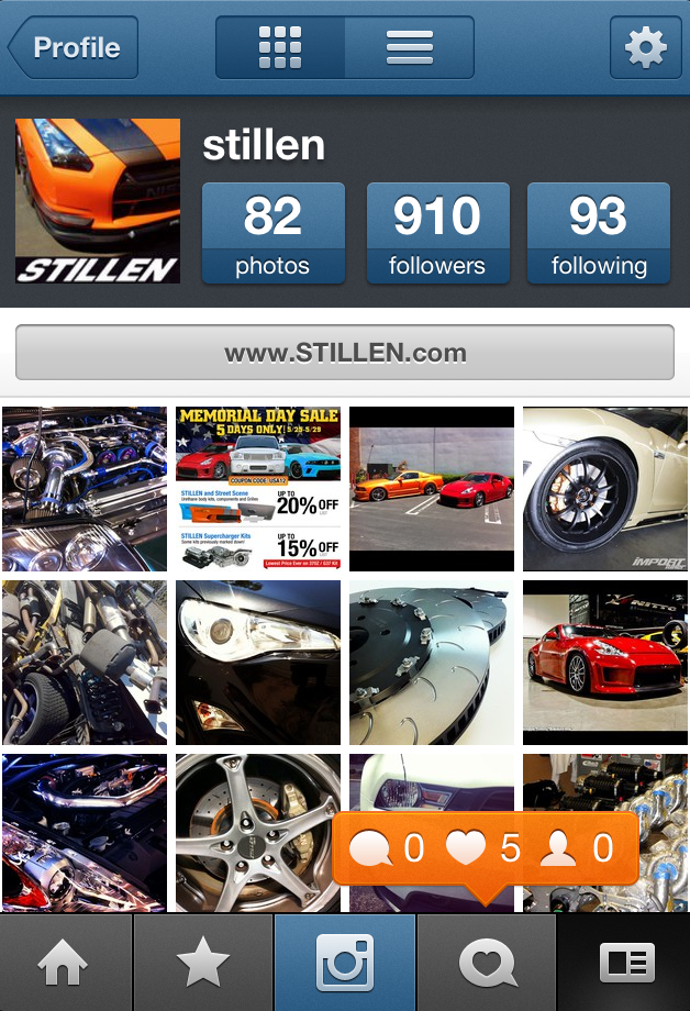 Follow STILLEN on Instagram!