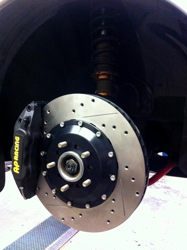 sti ap racing brakes
