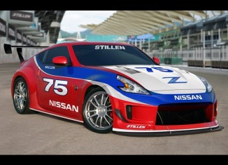 370z STILLEN throwback tribute car
