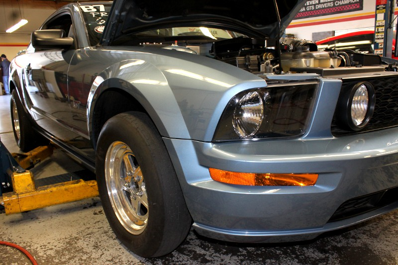 Drag Strip Mustang Getting a Supercharger at the STILLEN Performance Shop