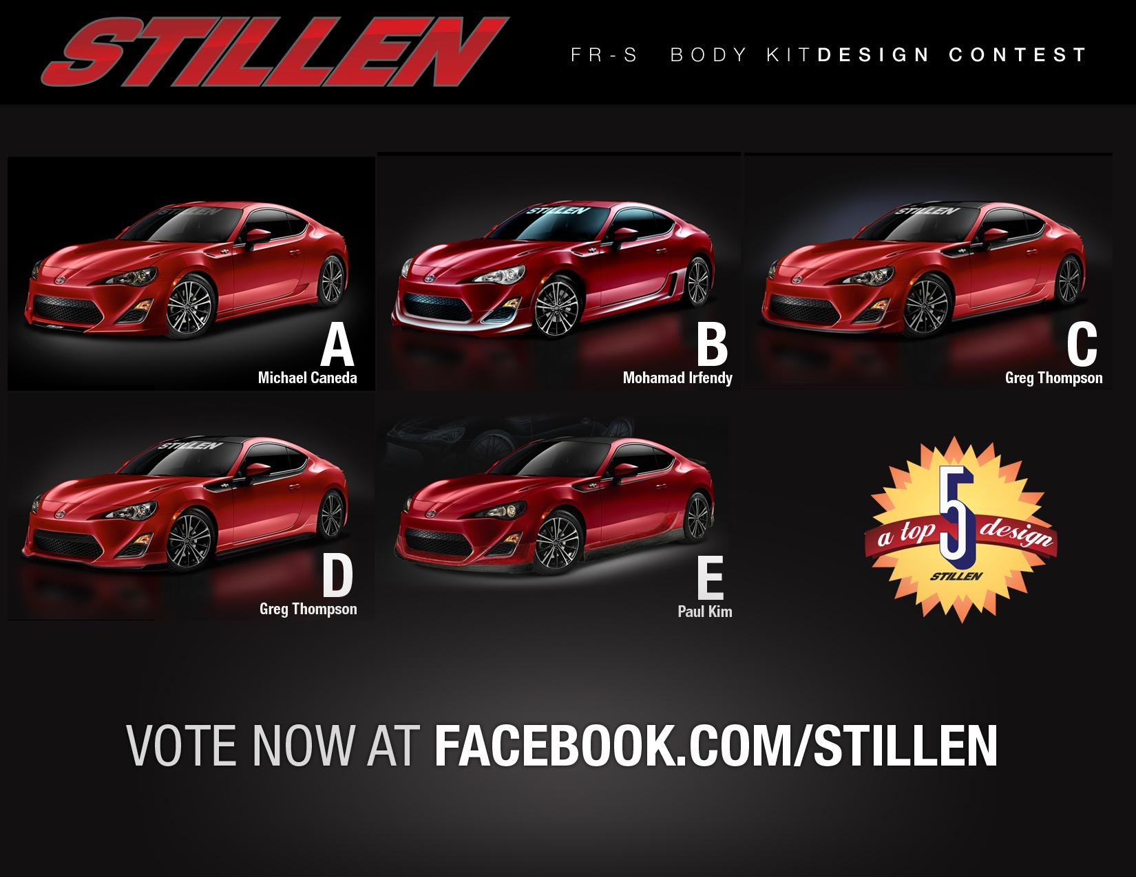 Vote Now for STILLEN FRS Contest