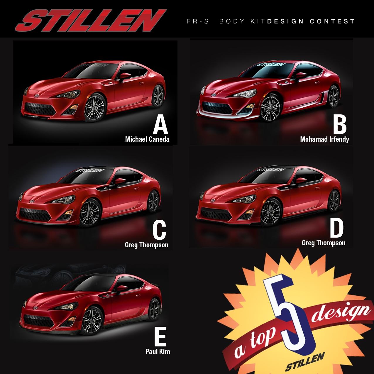 STILLEN FRS Contest Top 5