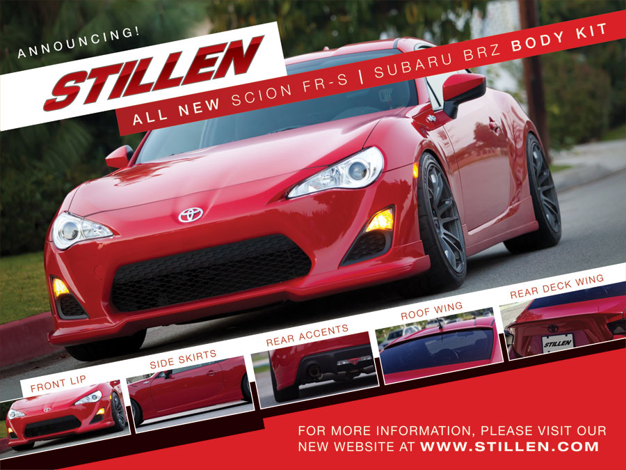 STILLEN FR-S Body Kit