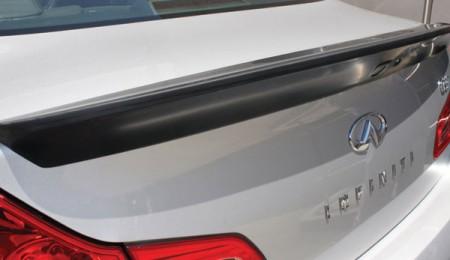 2013 Infiniti G37 Sedan Trunk Wing