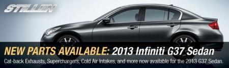 2013 Infiniti G37 Sedan Fitment