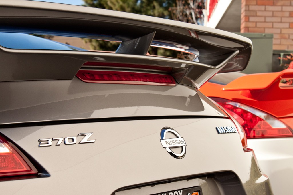 370Z Nismo Badges