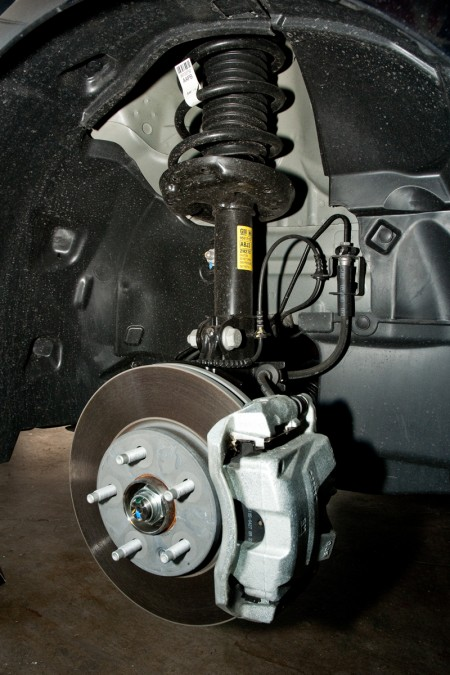 2013 Chevy Sonic Hatchback Stock Front Shock and Spring