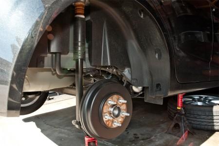 Hatchback Stock Rear Shock and Spring