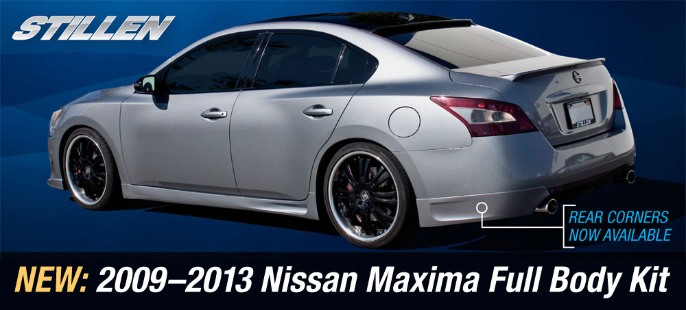 New Product 2009 2013 Maxima Body Kit Stillen Garage